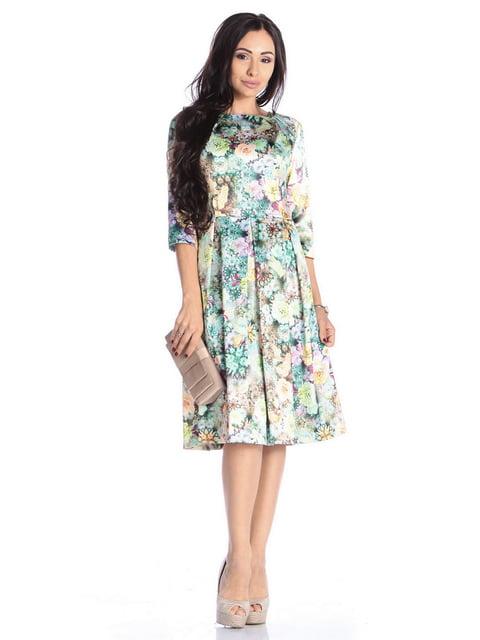 Сукня в квітковий принт Laura Bettini 4592266