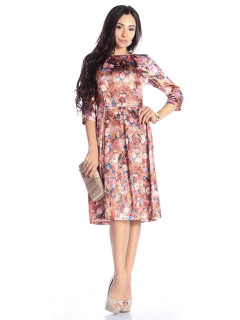 Платье в цветочный принт Laura Bettini 4592267