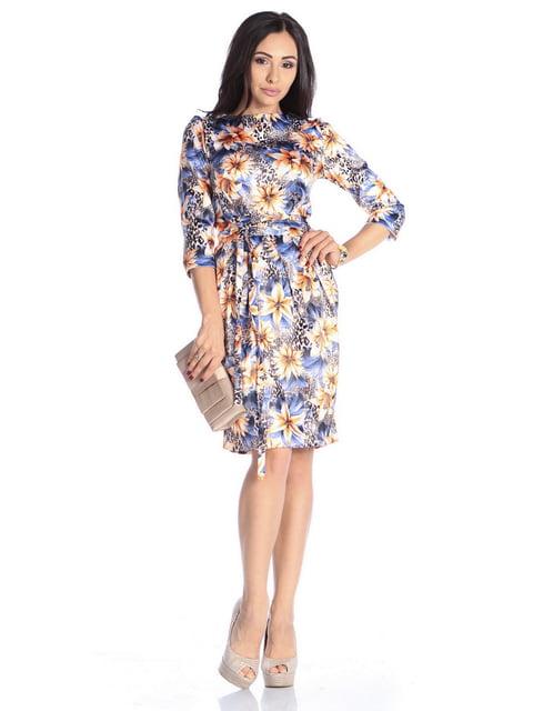 Сукня в квітковий принт Laura Bettini 4592270