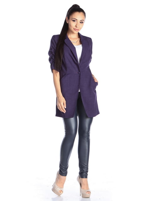Кардиган темно-фиолетовый Laura Bettini 4592347