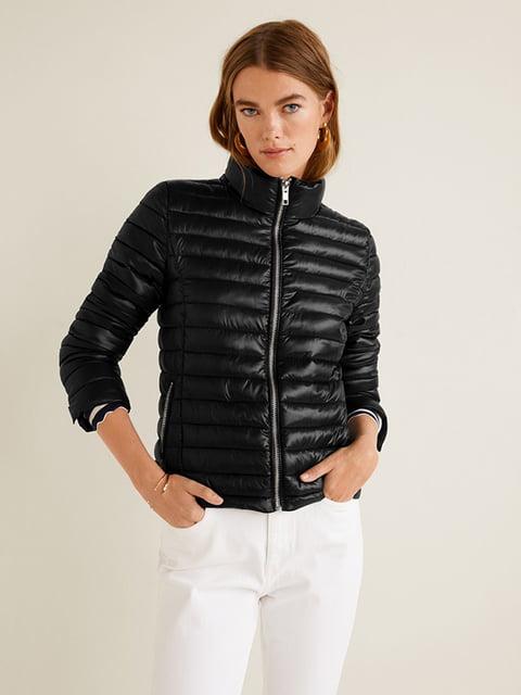 Куртка чорна Mango 4599260