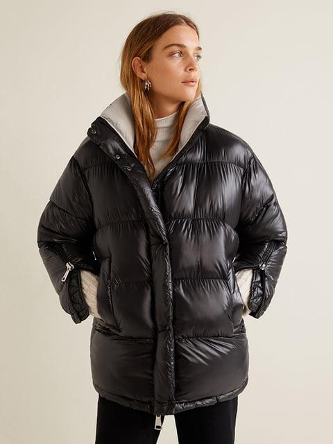 Куртка чорна Mango 4599290