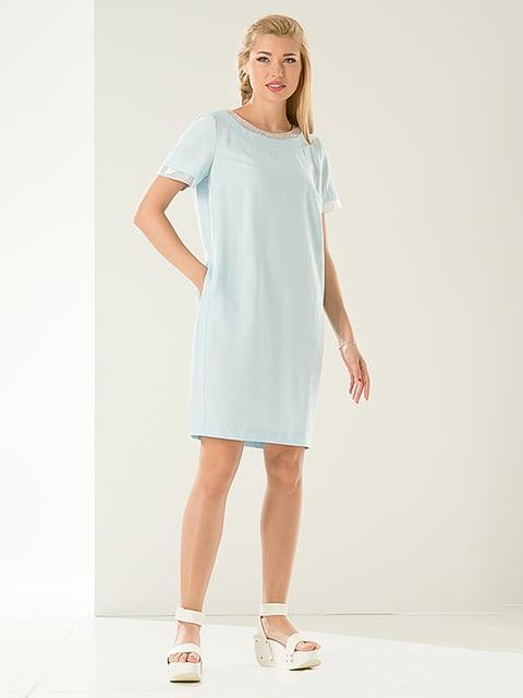 Платье голубое Lesya 4302450