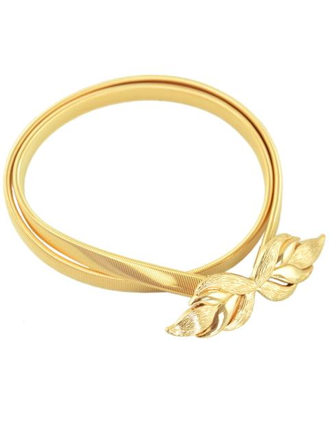 Пояс-пружина золотистий Traum 4600186