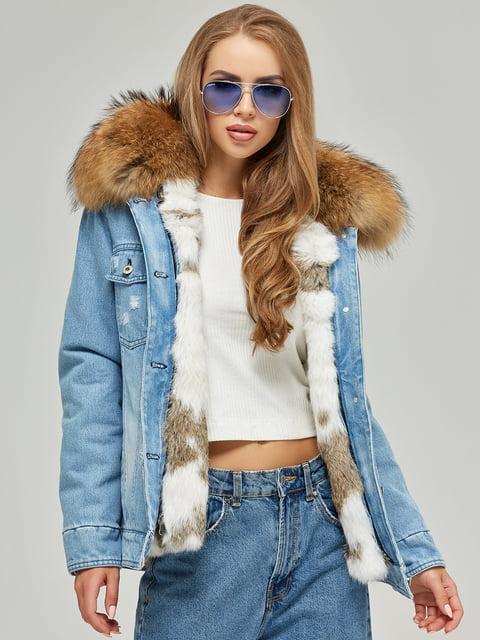 Куртка блакитна Mila Nova 4601841