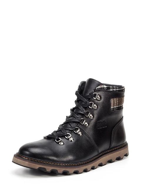 Черевики чорні Broni 4559352