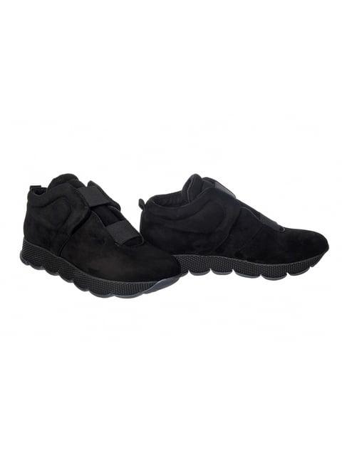 Кросівки чорні LeoModa 4603656