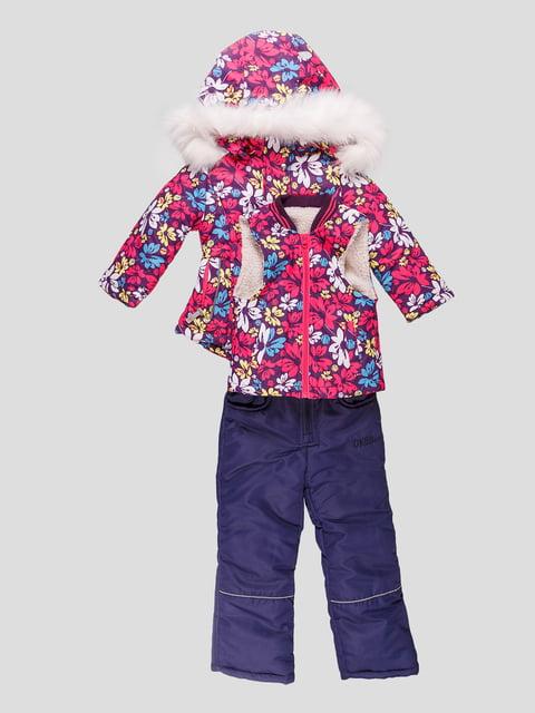 Комплект: куртка, жилет і півкомбінезон DKBB 4587910