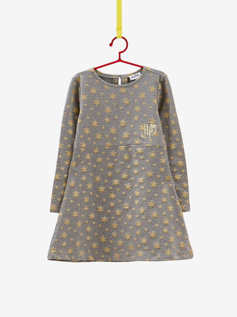 Сукня сіра в принт Oviesse 4582127