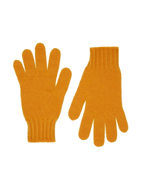 Рукавички жовті Benetton 4602606