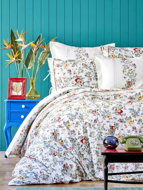 Комплект постельного белья двуспальный (евро) Karaca Home 4601956