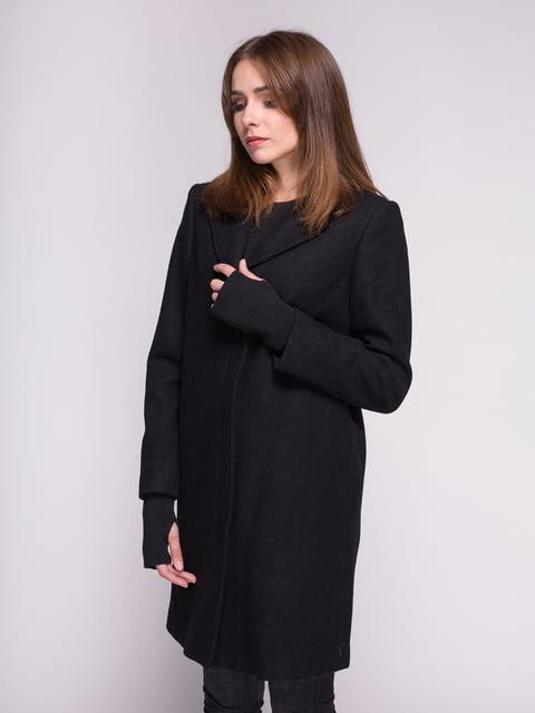 Пальто черное Eleven Paris 4456345