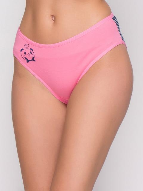 Труси рожеві з принтом Nicoletta 4582381