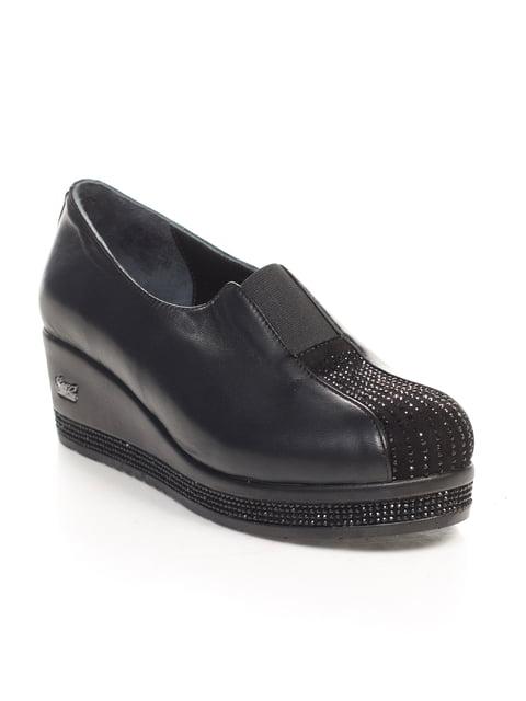 Туфлі чорні Guero 4547178