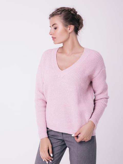 Пуловер цвета пудры Sewel 4519942