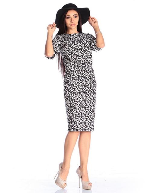 Платье в принт Laura Bettini 4610345