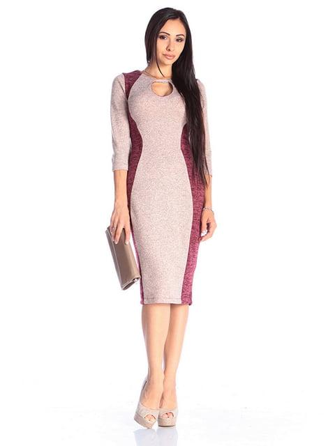 Сукня бордово-персикового кольору Laura Bettini 4610382