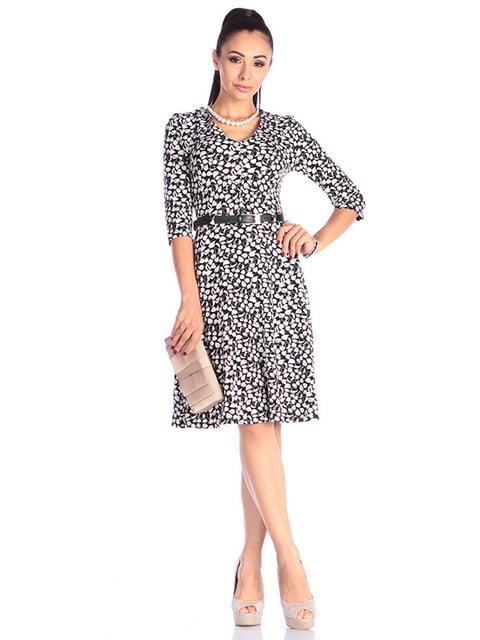 Сукня в принт Laura Bettini 4610427