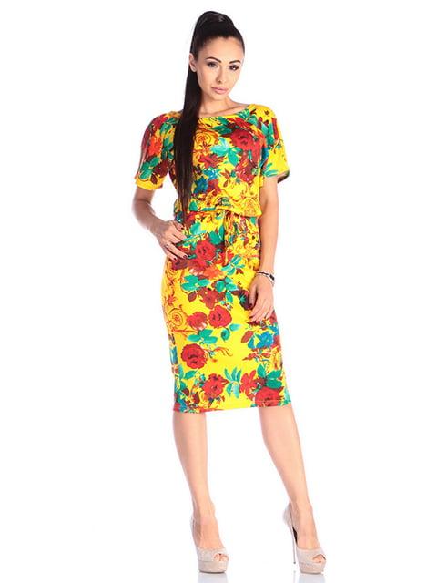 Сукня в принт Laura Bettini 4610438