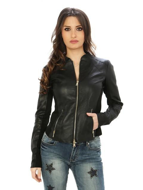Куртка чорна Valeria Vinci 4606052