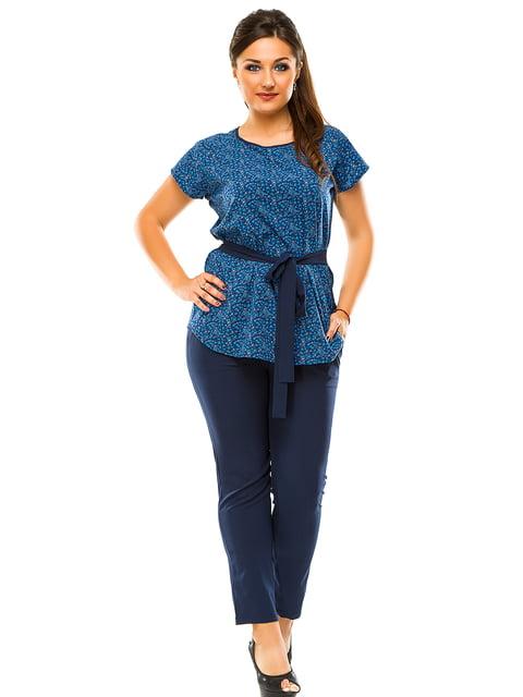 Костюм: блуза и брюки ELFBERG plus size 3470126