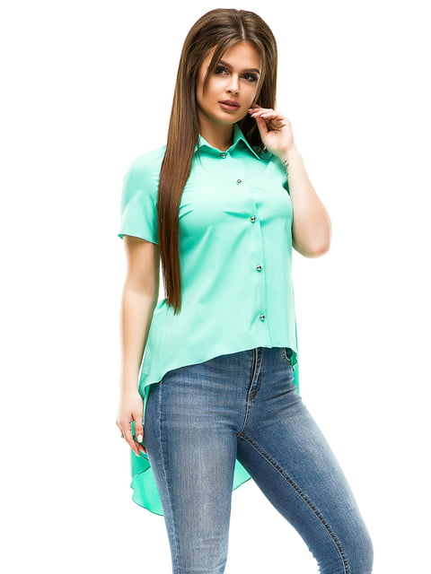 Сорочка м'ятного кольору ELFBERG 4613511