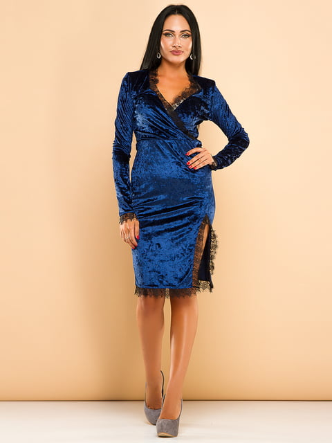 Платье синее ELFBERG 4613746