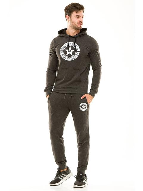 Костюм спортивный: худи и брюки Exclusive. 4614687