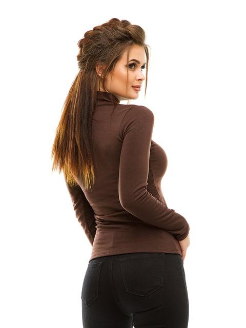 Гольф коричневий на флісі Tyrkey 4614694