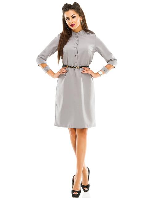 Платье серое Exclusive. 4614714