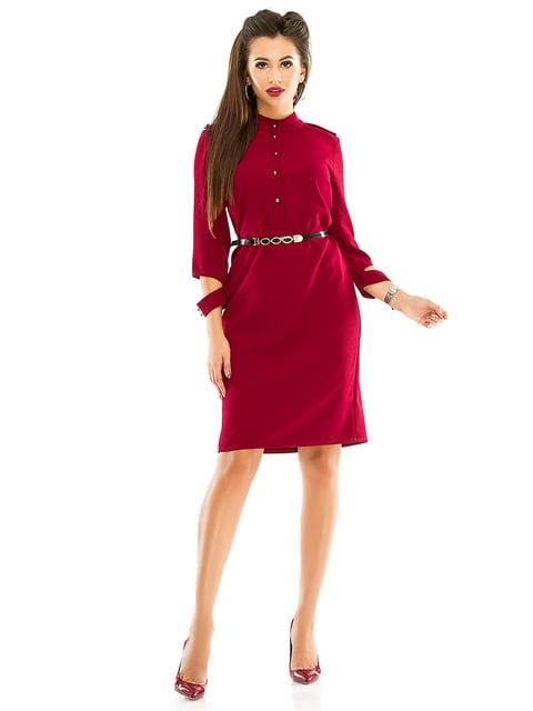 Платье бордовое Exclusive. 4614716