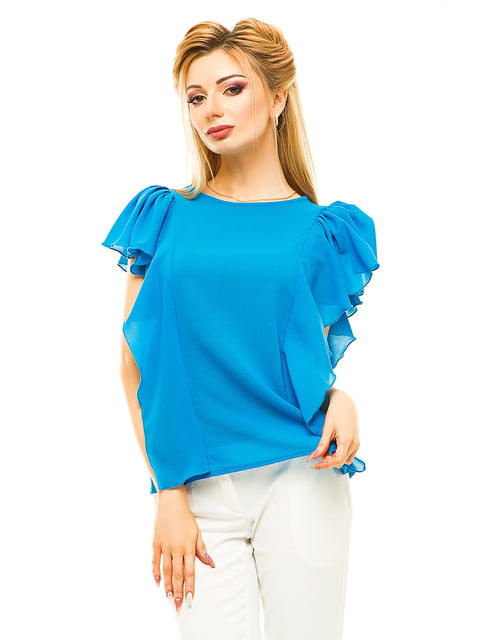 Блуза блакитна Elegance Creation 4615680