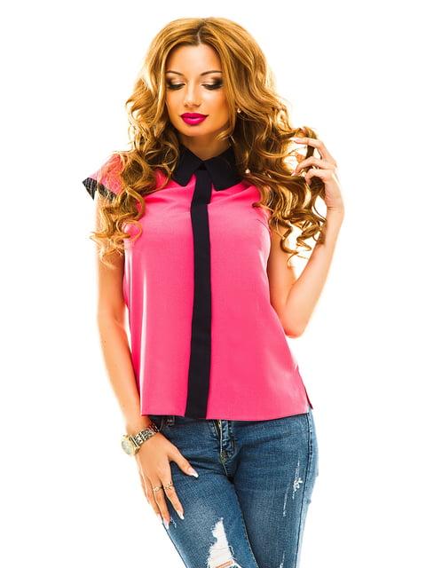 Блуза малинового кольору Elegance Creation 4615769