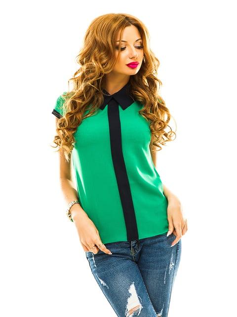 Блуза зелена Elegance Creation 4615785