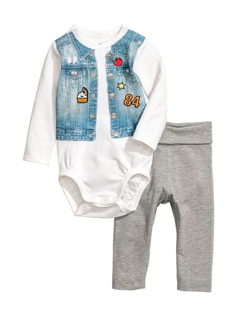 Комплект: боди и брюки H&M 4617408