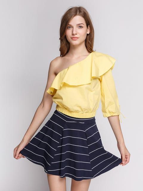 Блуза жовта Bershka 4564220