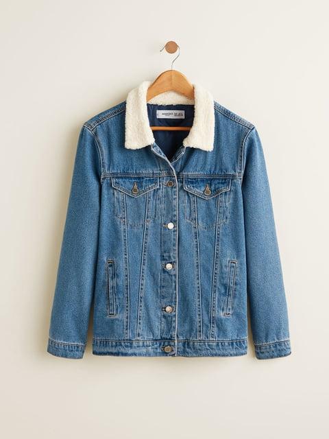 Куртка синя Mango 4549124