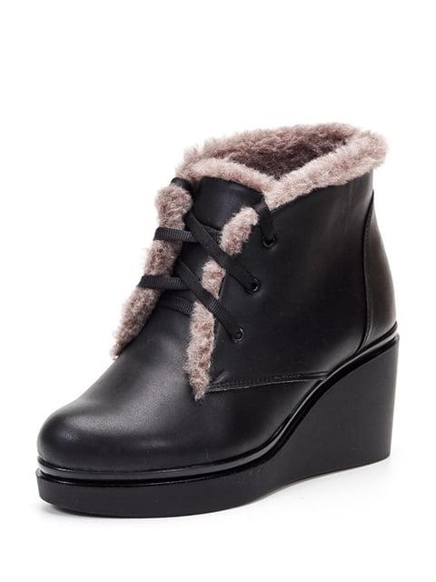 Ботинки черные Tops 4599422