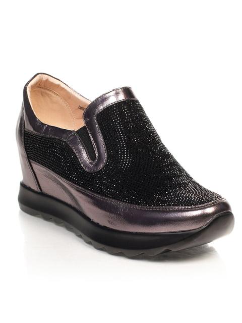 Сникерсы черно-бронзового цвета Blizzarini 4617780