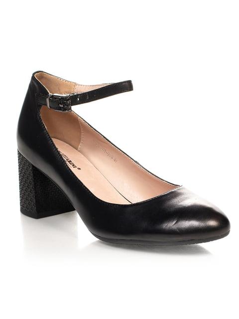 Туфли черные Blizzarini 4617779