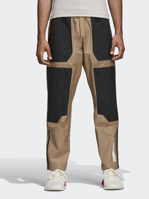 Брюки бежево-черные Adidas Originals 4601471