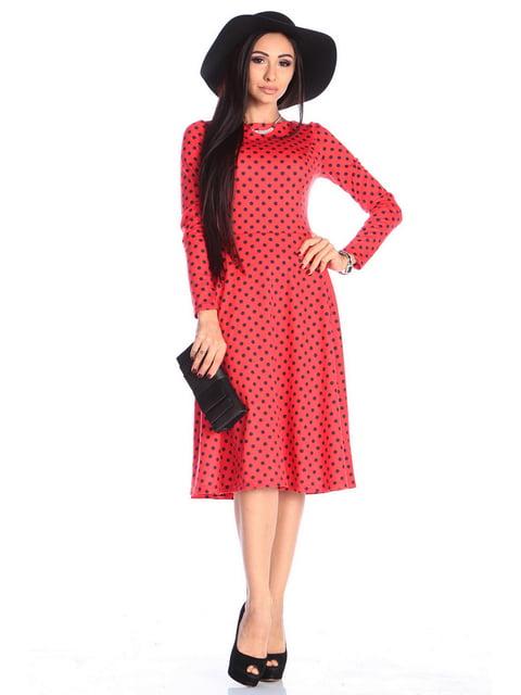 Платье в горох Laura Bettini 4618990