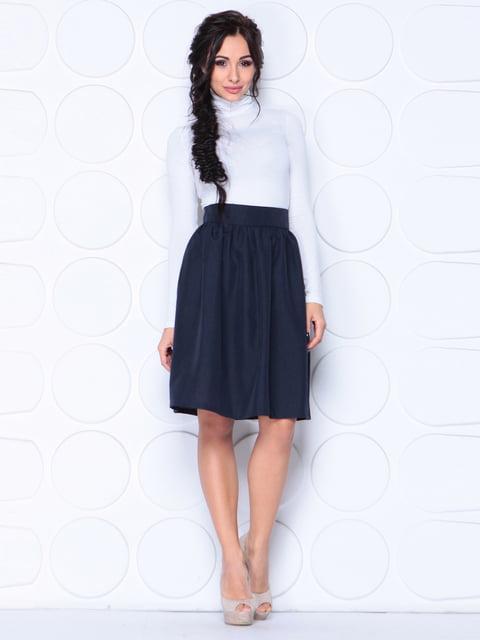 Юбка черно-синего цвета Laura Bettini 4619083