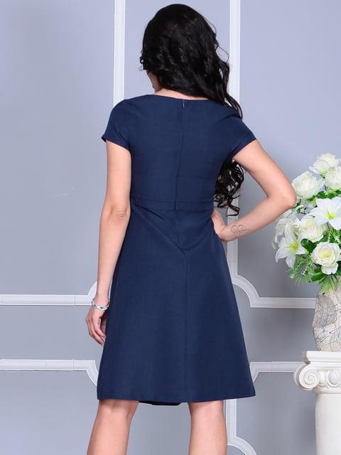Сукня темно-синя Laura Bettini 4619270