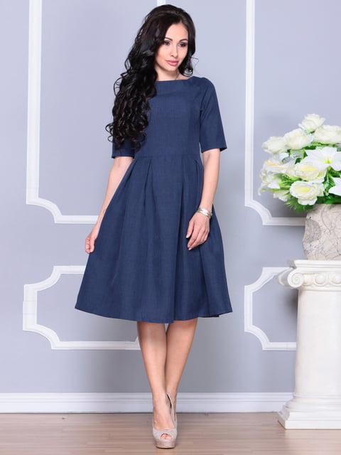 Сукня темно-синя Laura Bettini 4619364