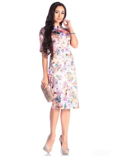 Сукня в квітковий принт Laura Bettini 4619365