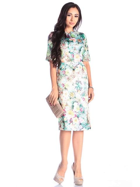 Сукня в квітковий принт Laura Bettini 4619366