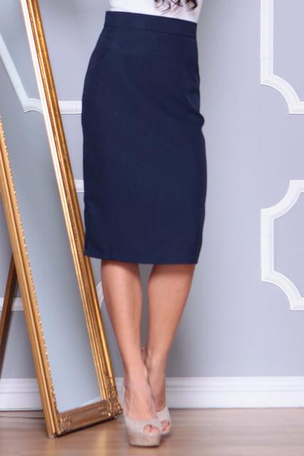 Юбка темно-синяя Laura Bettini 4619372