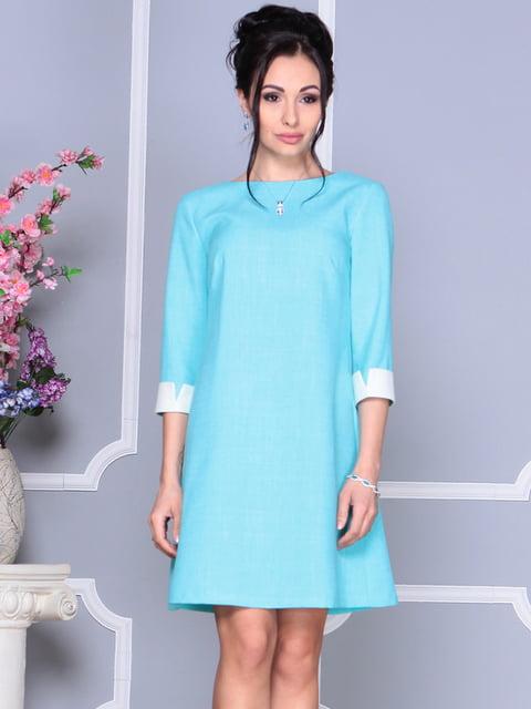 Сукня світло-бірюзова Laura Bettini 4619433