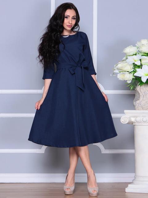 Платье темно-синее Laura Bettini 4619529